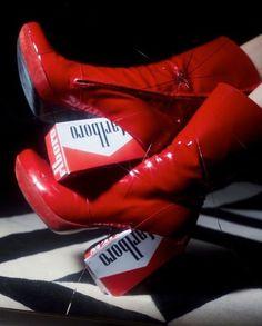 """9a0a6bf76e5c Morgane Nicolas on Instagram  """"custom shoes  nattofranco shot with   raffaele cariou  fatale"""""""