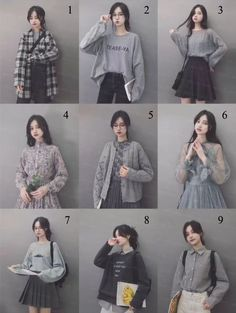 Korean Girl Fashion, Korean Fashion Trends, Ulzzang Fashion, Korean Street Fashion, Korea Fashion, Cute Fashion, Korean Outfit Street Styles, Korean Outfits, Korean Style