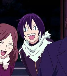 This is what I do when my friend goes to hand out with a different friend when I'm in the middle of a sentence - Yato, Noragami