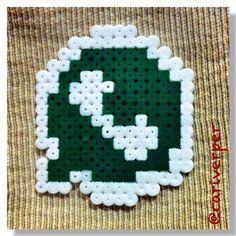 WhatsApp logo hama beads by cariverper