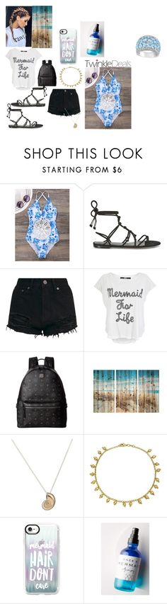"""mermaid"" by jazzyrae402 ❤ liked on Polyvore featuring Temperley London, Iron Fist, MCM, Bling Jewelry, Casetify, Olivine Atelier and Ice"