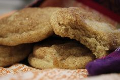 snickerdoodles with crystallized ginger