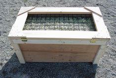 Great slow feeding box for horses.
