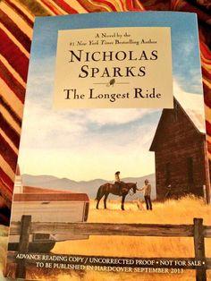 Analysis the longest ride by nicholas