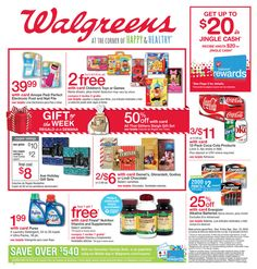 Walgreens Weekly Ad December 6 - 12, 2015 - http://www.olcatalog.com/grocery/walgreens/walgreens-ad.html