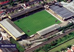 Boothferry Park as was...now a new housing estate!