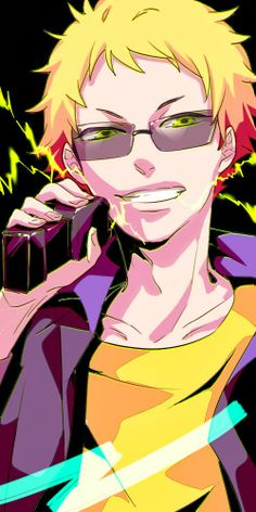 BIRTHDAY. Guys I'm not kidding his name is really Birthday. From Hamatora
