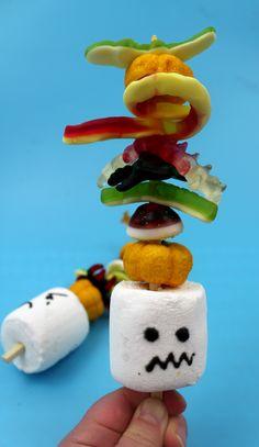 halloween sweet kebabs