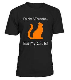 Therapy Cat T-Shirt | Cat Therapist | Feline Volunteer Tshirt Best Nursing Schools, Therapy, Cats, Mens Tops, T Shirt, Supreme T Shirt, Gatos, Tee Shirt, Kitty Cats