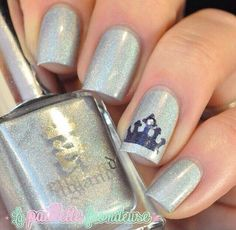 Silver and crown