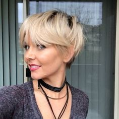 """5,132 Likes, 360 Comments - SALON OWNER / CELEBRITY HAIR (@brianacisneros) on Instagram: """"5 different ways to style your pixie cut! (Tap for audio) It's amazing how by just pushing your…"""""""