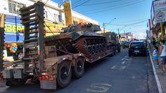 FOTOS DE ANDRADINA: Blindado M-41, um presente do Exército Brasileiro ...