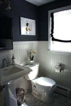 This could be a good color for the downstairs bathroom?
