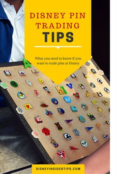 Disney Pin Trading Tips. Everything you need to  know to trade pins at Disney parks. It really is a lot of fun!