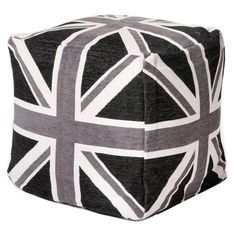 I pinned this Commonwealth Cube in Black & Grey from the London Calling event at Joss and Main!