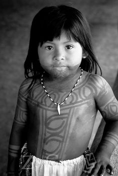 Panama | Embera girl at Puru village | © Zizza Gordon