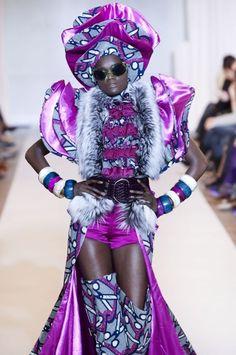 Vlisco fashion show paris