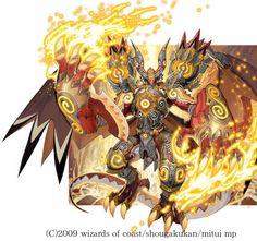 Bolshack NEX-Duel Master artwork by Toshiaki Takayama