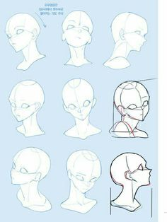 Drawing Tips Side View Drawings Drawing Reference Poses, Anatomy Reference, Drawing Tips, Drawing Tutorials, Drawing Heads, Drawing Base, Drawing Drawing, Female Drawing, Figure Drawing