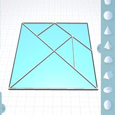 Something we liked from Instagram! Designing tangrams in Morphi Chinese dissection puzzles with 7 flat shapes placed together to form other shapes. These puzzles are great for teaching #math  #art skills with or without #3dprinting. #design #designer #steam #student #teacher #chinese #tangram #puzzle #create #creative #maker #makered #makermovement #drawtool #geometric #geometry #angles #proportion #classroom #3dmodel #3dprint #3ddesign #3dprinter #3dmodeling #china #mathematics by morphiapp…