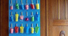 Adventskalender: Idee Wäscheklammern. Farben ändern, evtl Kaffebecher