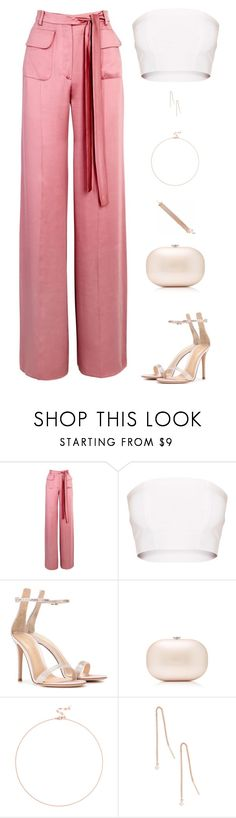"""""""Untitled #5196"""" by mdmsb on Polyvore featuring Valentino, Gianvito Rossi, Jeffrey Levinson and Sole Society"""