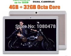86.99$  Buy here  - Free Shipping 2017 New 10 inch Octa Core 3G Tablet 4GB RAM 32GB ROM 1280*800 Dual Cameras Android 5.1 Tablets 10.1 inch