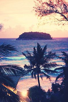 makes me wanna go to a tropical island ...