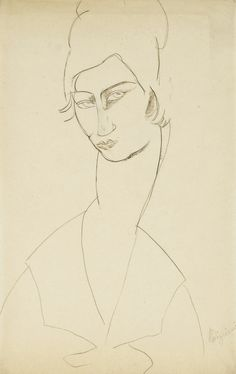 LAWRENCE LEE MAGNUSON: Amedeo Modigliani (1884-1920) Portrait de Jeanne...