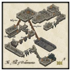 The Halls of Undermountain by Tonnichiwa on DeviantArt