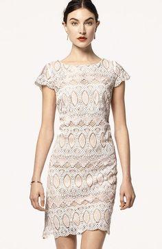 Eliza J Scalloped Lace Sheath Dress Eliza J Kleider, Backen Spitze,  Nordstrom Kleider, d566644659d
