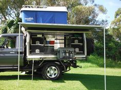 Ute Canopy Camper With Roof Tent In Cars Bikes Boats Caravans Motorhomes