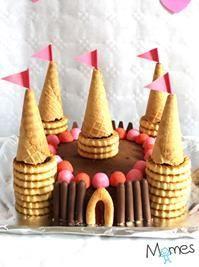gâteau château princesse anniversaire