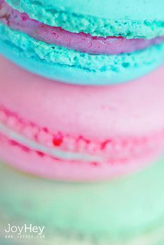 Tricolore Macarons   Flickr - Photo Sharing!