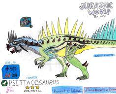 Jurassic World: The Game -Psittacosaurus (Request) by DinoBrian47 on DeviantArt