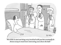 "Premium Giclee Print: ""We'd like to start out being very involved with you but eventually be dra…"" - New Yorker Cartoon by Peter C. Vey : 12x9in"