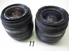 5L115EA SIGMA 28-70mm F3.5-4.5 レンズまとめて2本 ジャンク_画像1