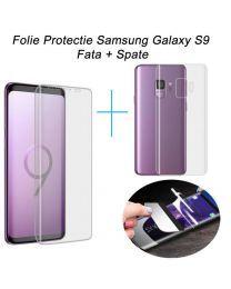 Folie Samsung Galaxy S9 G960 FATA + SPATE Acoperire 100% Ultra Clear Samsung S9, Samsung Galaxy S9, Galaxies, Phone, Madness, Telephone, Phones, Mobile Phones
