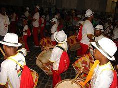 Carnaval 2013 Maracatu. Recife, Brasil.