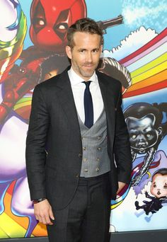 Ryan Reynolds' Quotes About Fatherhood Prove He's Pretty Much The Perfect Parent Ryan Reynolds, Deadpool, Joe Keery, Jodie Comer, Two Daughters, Pretty Much, Photo L, Red Carpet Looks, Daily Photo