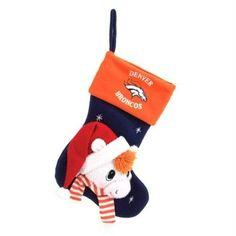 com SC Sports Denver Broncos Baby Mascot Stocking Sports