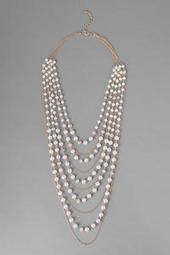 Medina Pearl Necklace  - This necklace is perfect for a simple dress, a chilly fall day, and some 20s flare! -