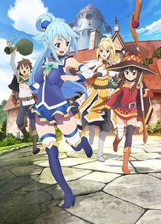 "Crunchyroll - ""Kono Subarashii Sekai ni Shukufuku wo!"" TV Anime Premiere Set for January 13, 2016"