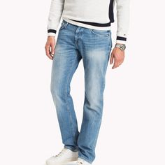 Image for Denton Straight Fit Jeans from TommyUK