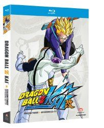 Available in: DVD.This high octane release from the sci-fi action anime series DragonBall Z Kai offers all 25 episodes of the show's third season - Dragon Ball Z, Brina Palencia, Kai, Thing 1, Mystery Thriller, Season 3, Science Fiction, Movie Tv, Sci Fi