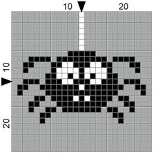 SPRE: Patterns & Design: Crochet Spider Square!