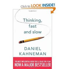 Thinking, Fast and Slow, Daniel Kahneman. An absolutely amazing book, full of very powerful insight into the way we think. Written with a perfect balance of clarity and complexity by a Nobel prize winner. Thinking Fast And Slow, Behavioral Economics, Think Fast, Great Books, The Guardian, Reading Lists, Books To Read, Give It To Me, This Book