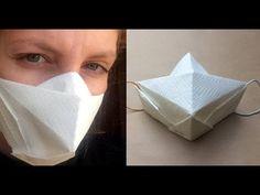 origami and kirigami Instruções Origami, Origami And Kirigami, Paper Crafts Origami, Origami Rose, Oragami, Diy Mask, Diy Face Mask, Diy Papier, Pocket Pattern