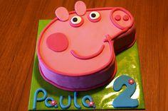 Tarta Peppa Pig / Peppa Pig cake