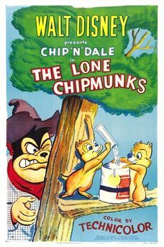 The Lone Chipmonks - 1954***Research for possible future project.